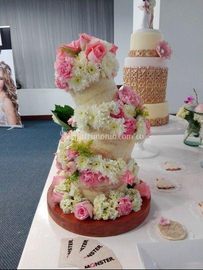 Naked cake torta desnuda