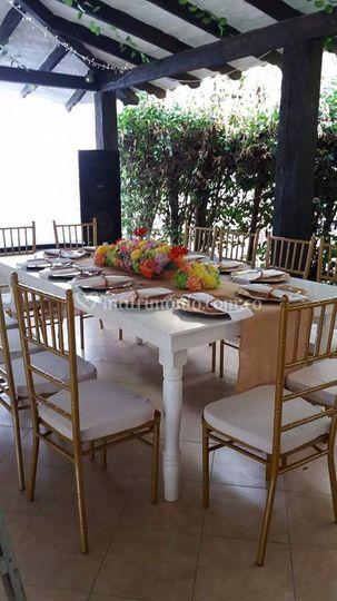 Mesas hermosas