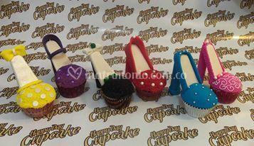 Cupcakes tacones