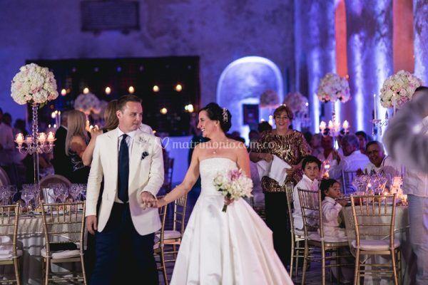 Todo un exito esta boda!