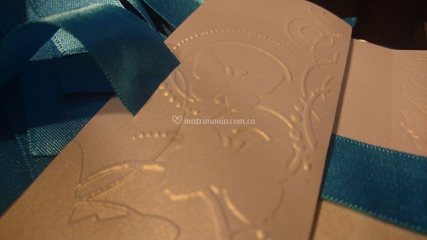 Invitaciónes azul tiffany