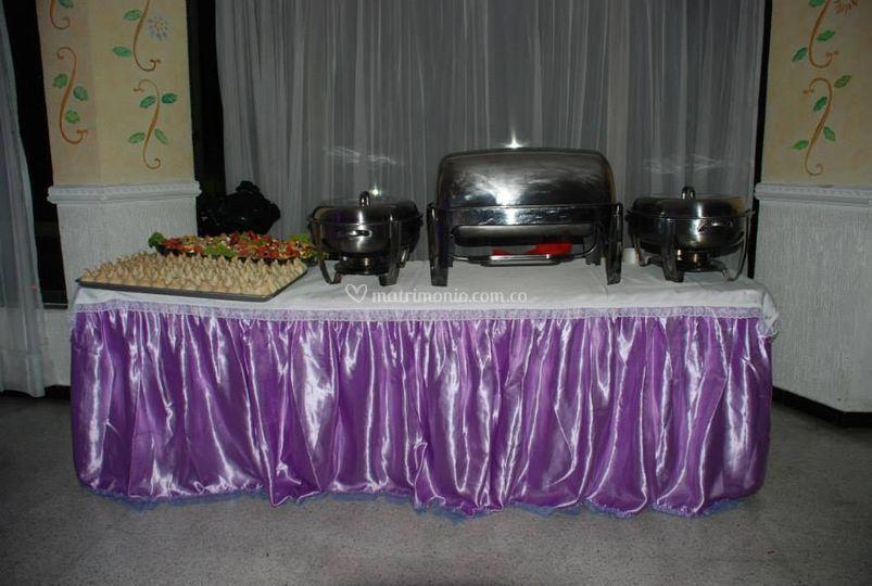 Mesa de bugffet
