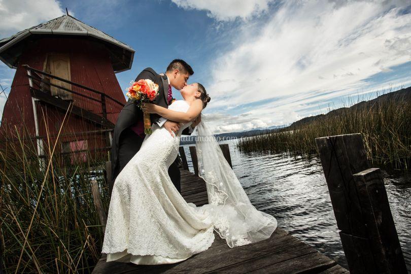 Post-boda Laguna de la Cocha