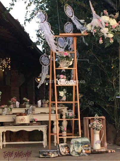 Espacio mesa dulce