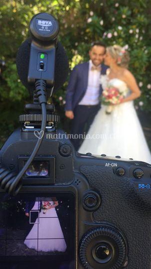 Rodaje en boda