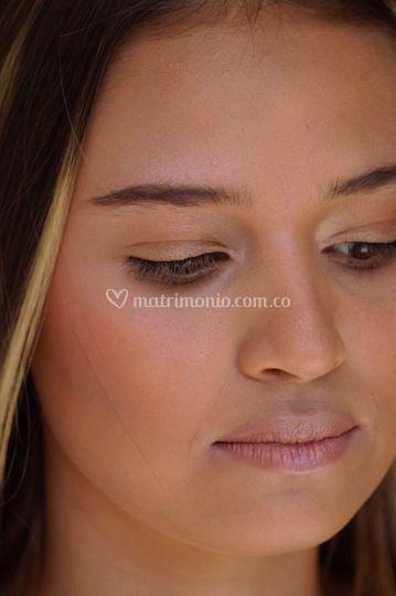 Maquillaje con aerografo