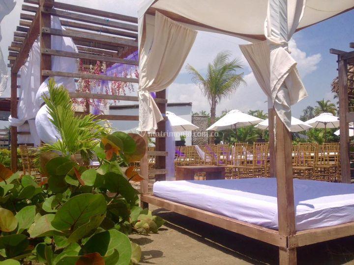 Playa del hotel Auaecoco
