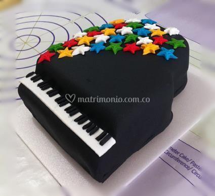 Torta de piano