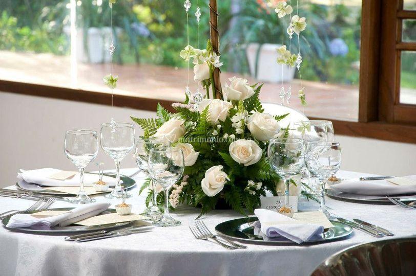 Centro de mesa bodas
