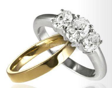 Argollas matrimonio y anillos compromiso