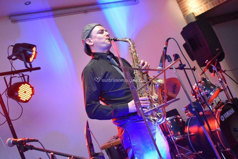 Saxofonista Hotel La Fontana