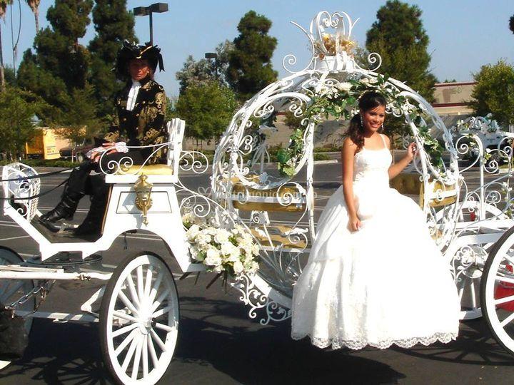 Carroza para la novia