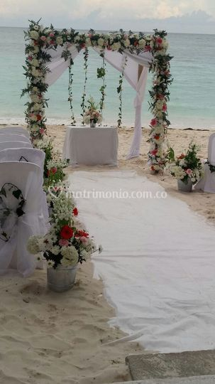 Playa para ceremonia