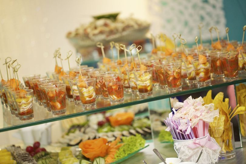 Buffet de estaciones