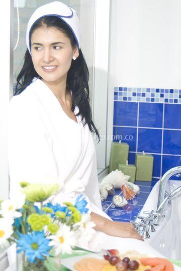Spa energía blanca para novias