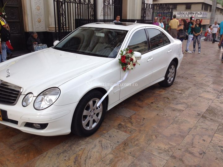 Mercedes Benz Clase E Blanco