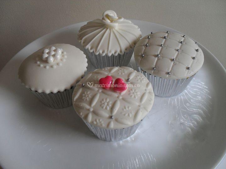 Cupcakes de bodas
