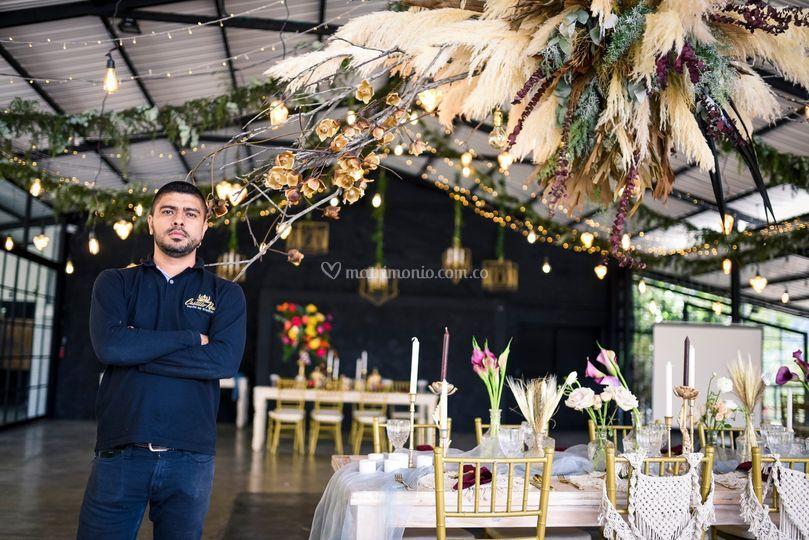 Wedding planner carlos B
