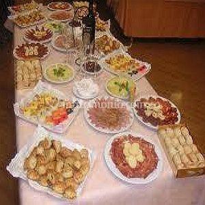 Presentación del catering