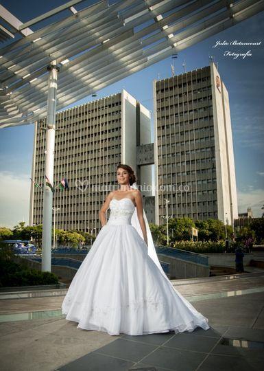 Sesión de fotos a la novia
