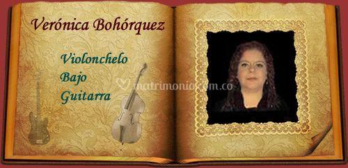 Verónica -violonchelo, bajo...
