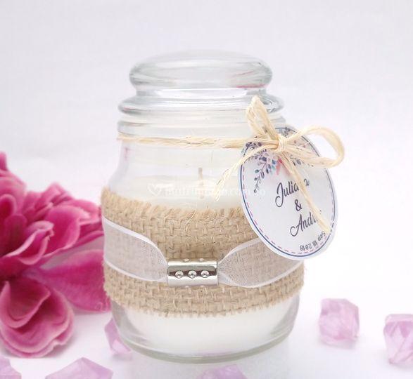 Boda velas aromalife