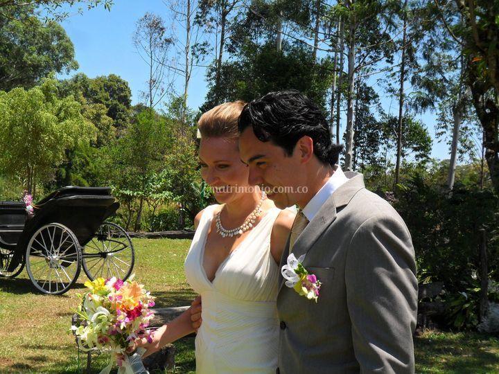 Matrimonios en prados
