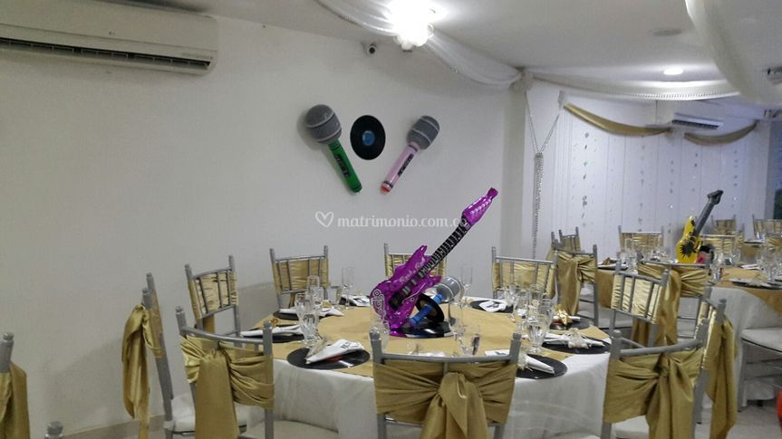 Una fiesta sesentena
