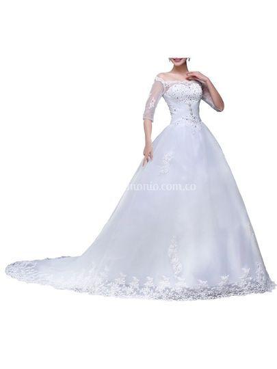 Blanco Ilusión Vestidos de Novia