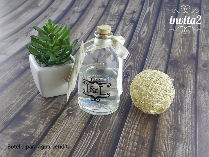 Botellas para Agua Bendita