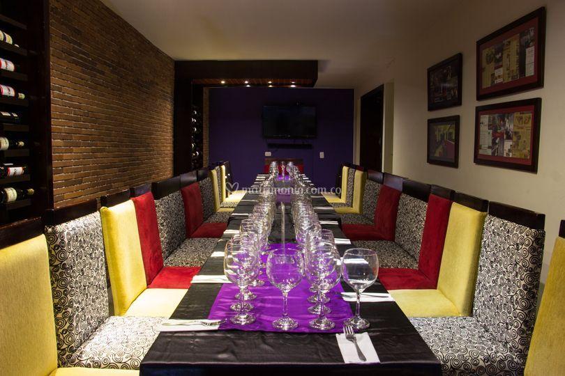 Salón cata de vinos