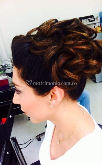 Peinado y maquillaje de boda