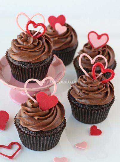 Cup chocolate corazon en choco
