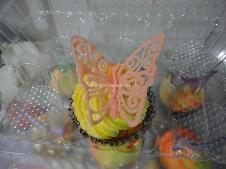 Cupcake de limon