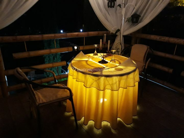 Balcón romántico