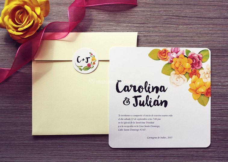 Modelo Carolina y Julian