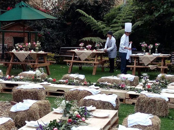 Mesas picnic