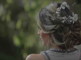 Peinado   Tocado de novia