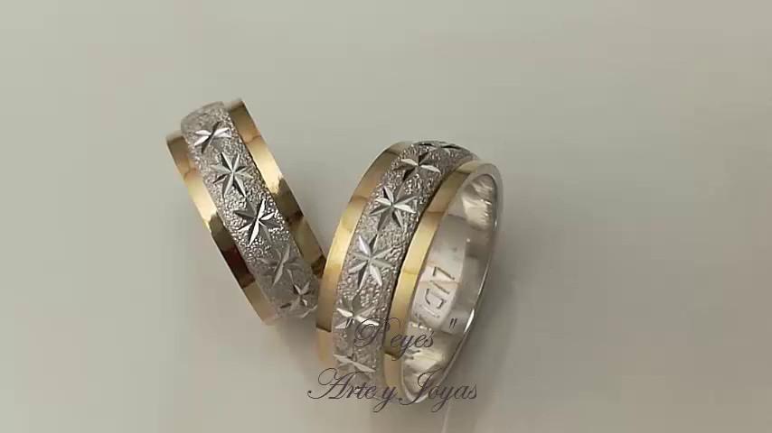 anillos de matrimonio oro y plata reyes arte y joyas video matrimonio comco