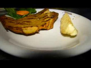 Comida del Restaurante La Casona