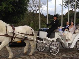 Carruaje para novia