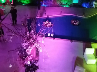 Decoración banquete de boda
