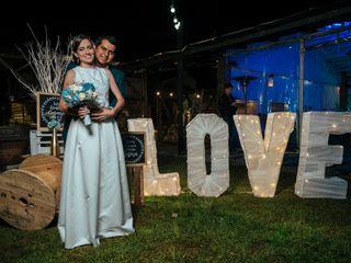 El matrimonio de Isabel Cristina y Jonathan