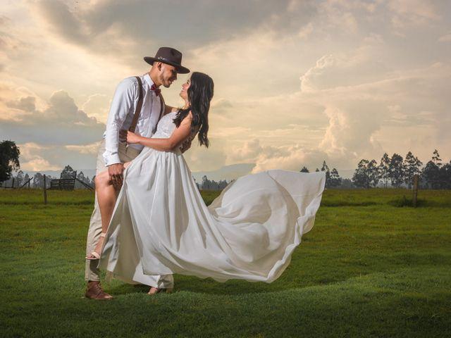 El matrimonio de Brade y Rafa