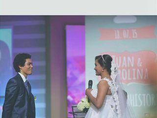 El matrimonio de Carolina  y Juan 2