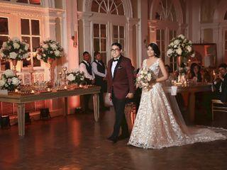 El matrimonio de Sandra  y Freddy