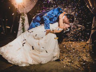 El matrimonio de Luz y Alex