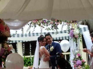 El matrimonio de Katherin y Andres