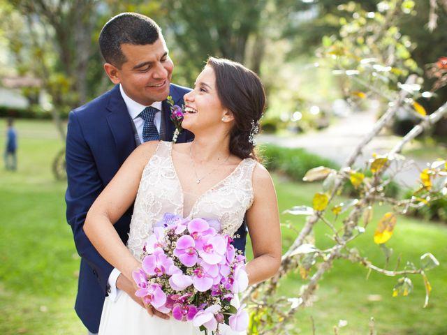 El matrimonio de Rochy y Julio