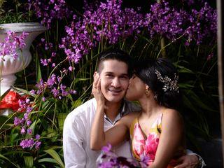 El matrimonio de Ginna  y Diego  1